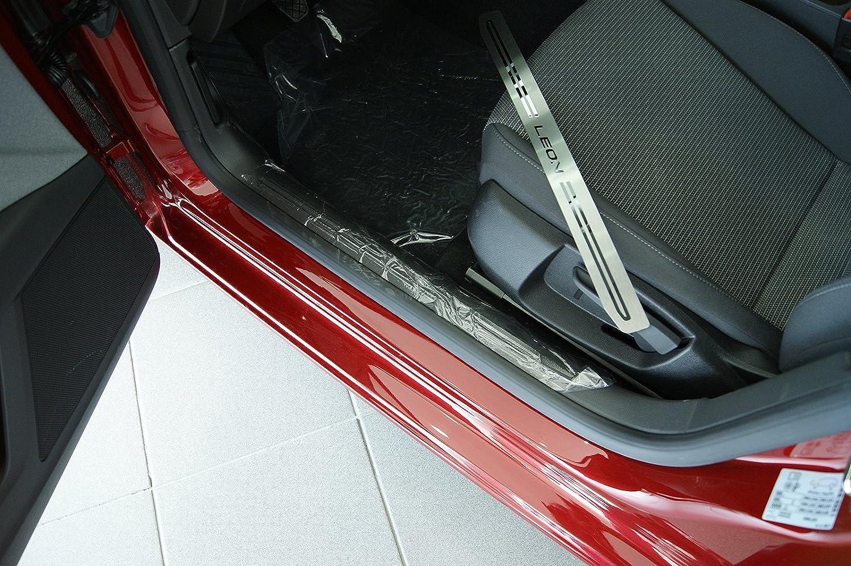 Seat Leon Mk3 2013 - 2017 umbral de la puerta Tread Juego de platos de 4: Amazon.es: Coche y moto
