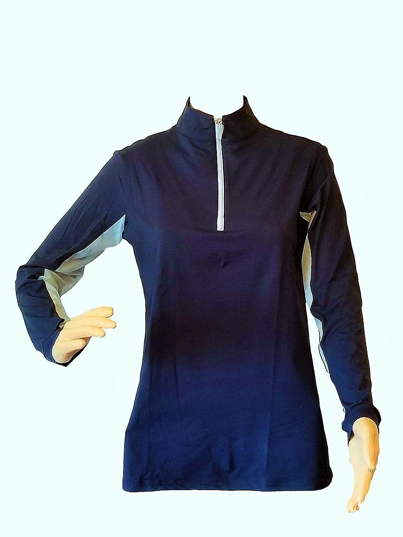 Tailored Sportsman Icefil Ziptop Shirt Navy//Babyboy XL