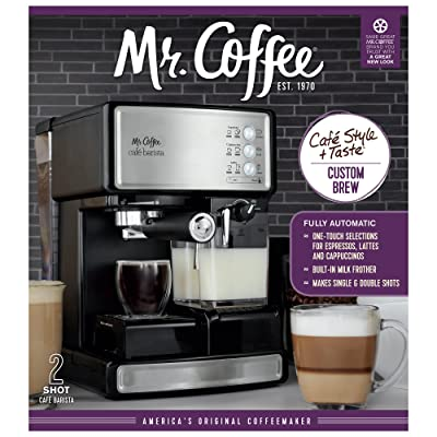 Key Features Of Mr. Coffee ECMP1000 Caf Barista Premium Espresso/Cappuccino System