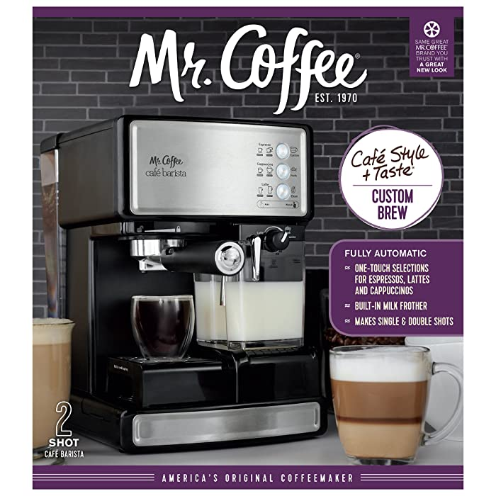What Makes the Mr. Coffee Café Barista Different