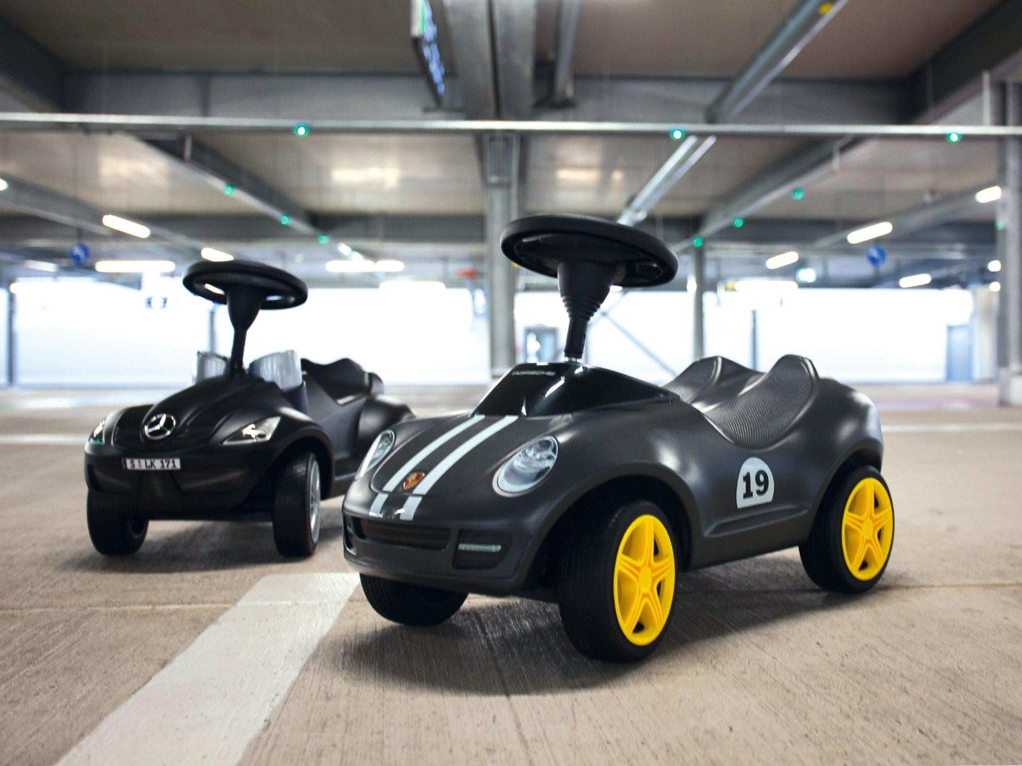 BIG Baby Porsche Ride-On Vehicle by BIG Spielwarenfabrik (Image #6)