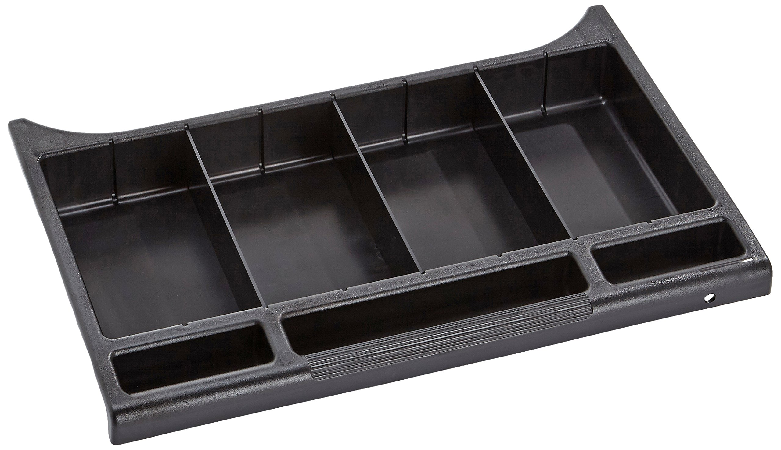 Rubbermaid Commercial Executive Series Locking Utility Drawer for Housekeeping Carts, Black