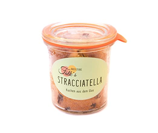 3 Stuck Stracciatella Kuchen Im Glas 3 Mal 140ml Amazon De