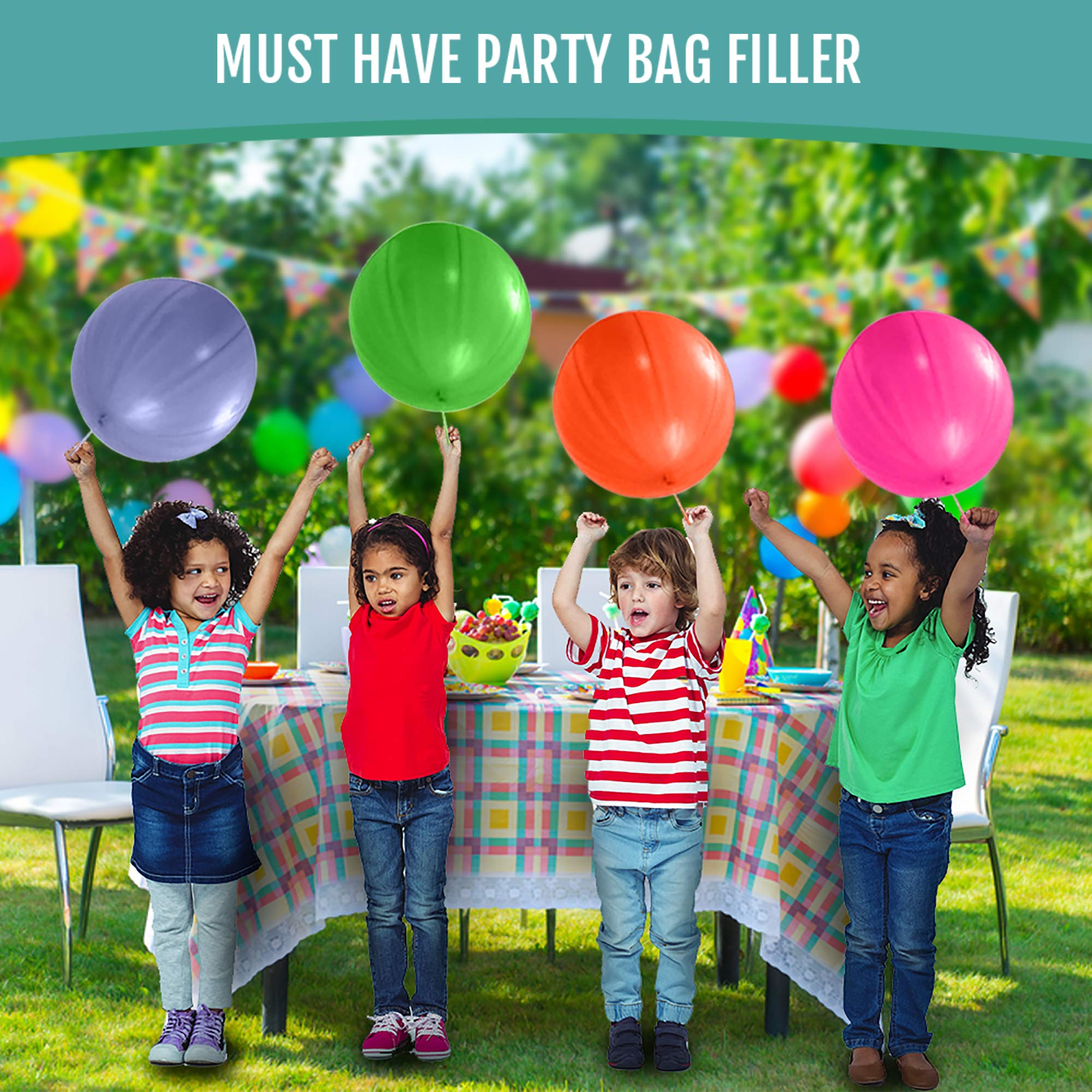 Perfect Moments 10 Mini Bubbles Wands NEON Rainbow Stars Childrens Party Birthday Bag fillers 2-Pack
