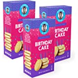 Goodie Girl Gluten Free Cookies, Birthday Cake Cookies, Certified Gluten Free, Peanut Free, Egg Free and Kosher (10.6oz…