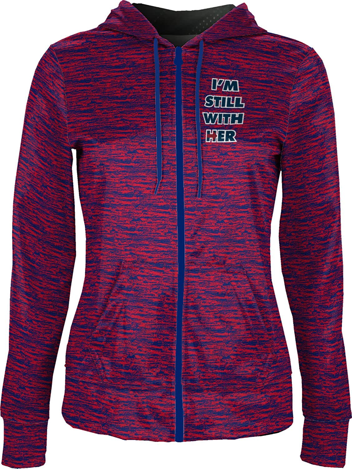 ProSphere Women's Still With Her Trending Brushed Fullzip Hoodie