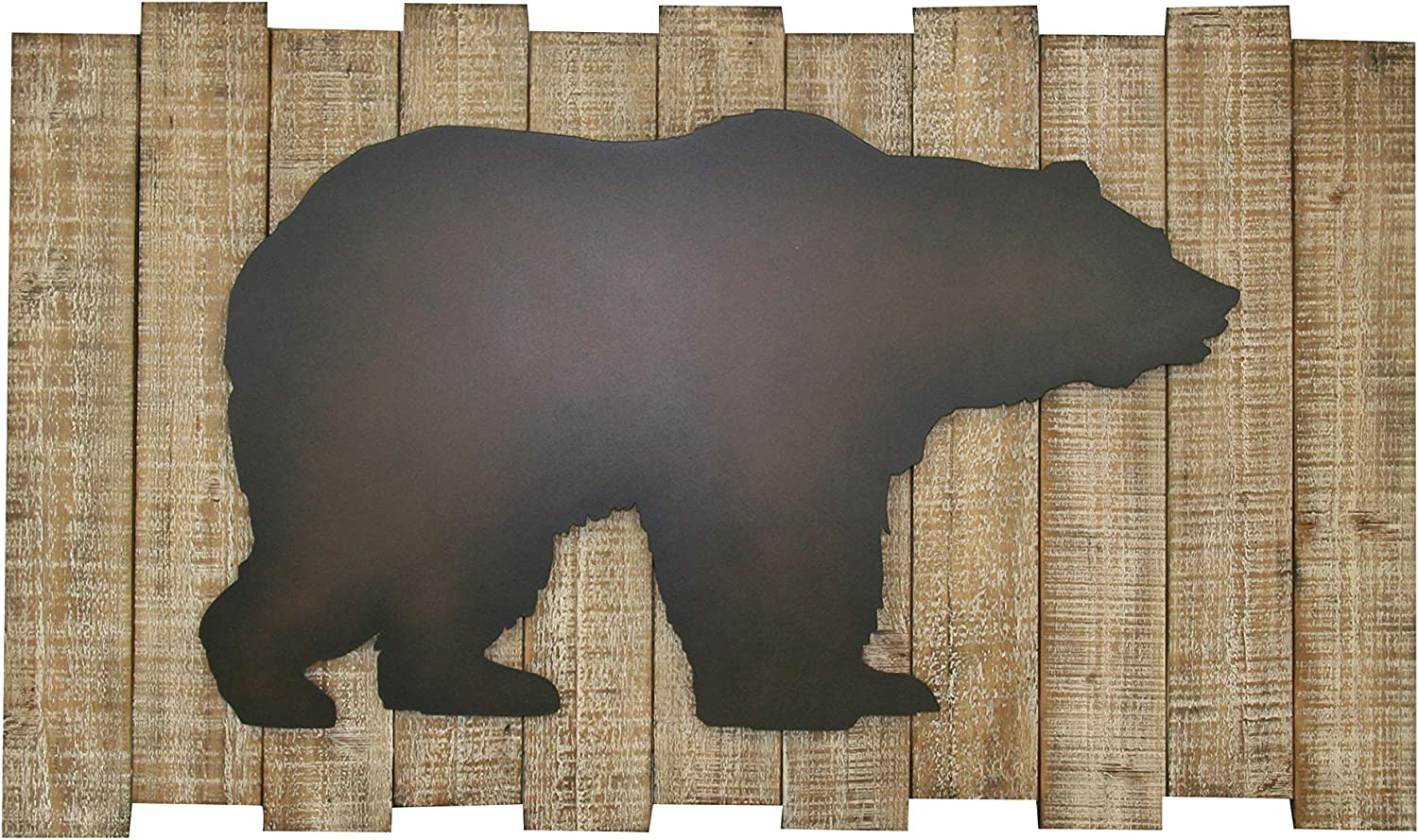 Carinas Collection Embossed Vintage Bear Wall Art