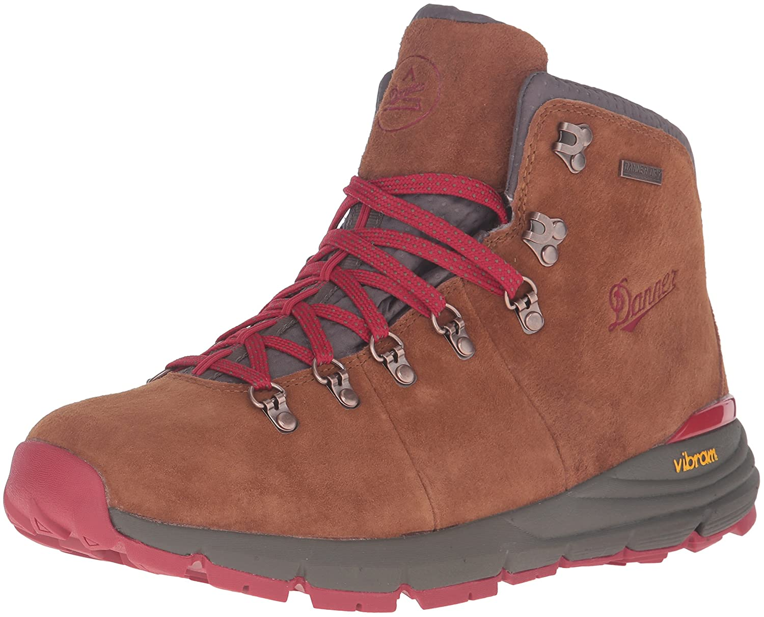 Brown Red Danner Men's Mountain 600 4.5  Hiking Boot