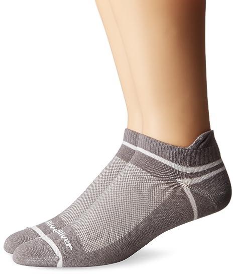 Fox River deporte Tab trípode de tobillo Calcetines para correr, Unisex, Federal Grey
