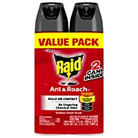 Raid Ant and Roach Outdoor Fresh Twin Pack, 17.5 OZ (Pack - 2)