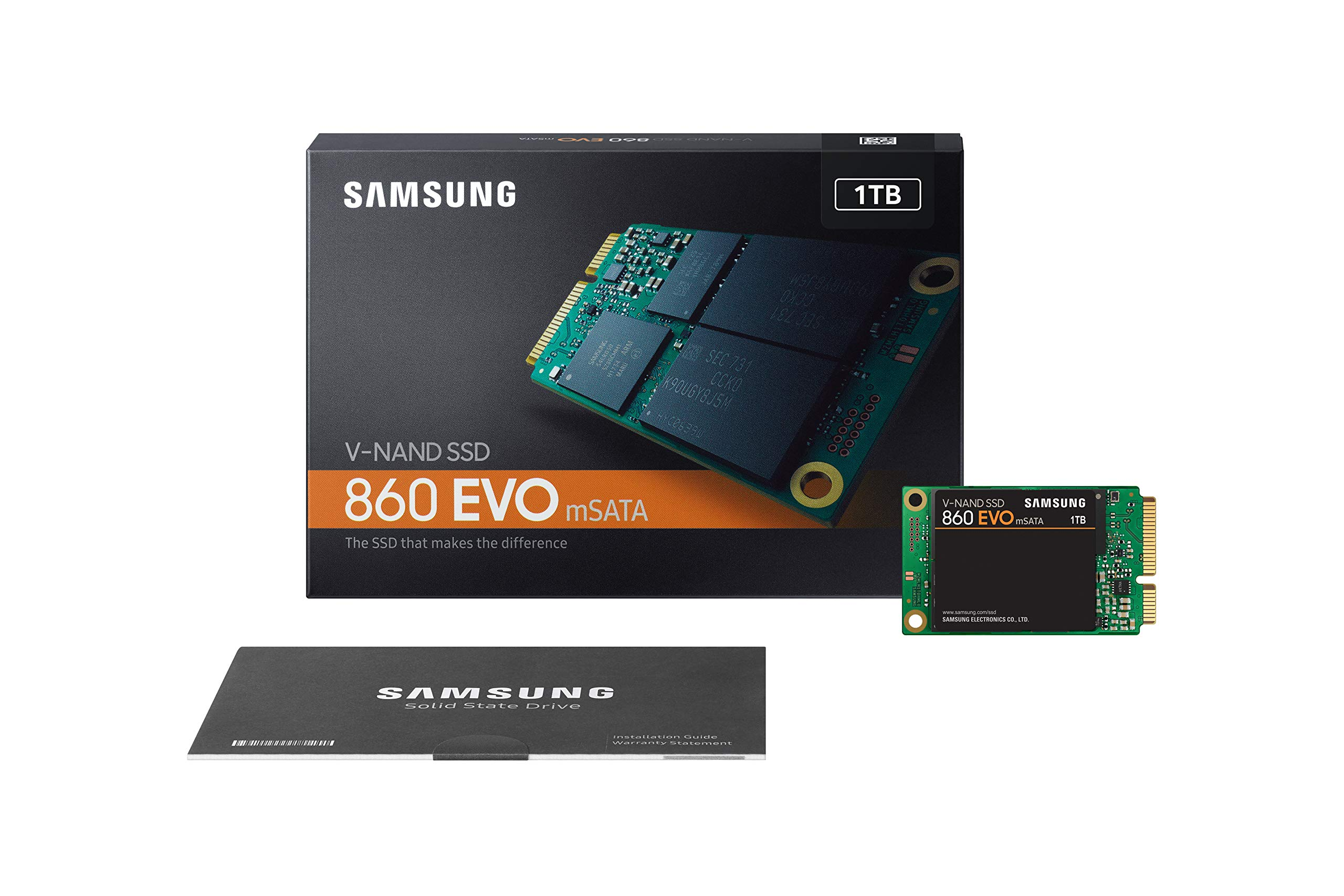 Samsung SSD 860 EVO 1TB mSATA Internal SSD (MZ-M6E1T0BW) by Samsung (Image #9)