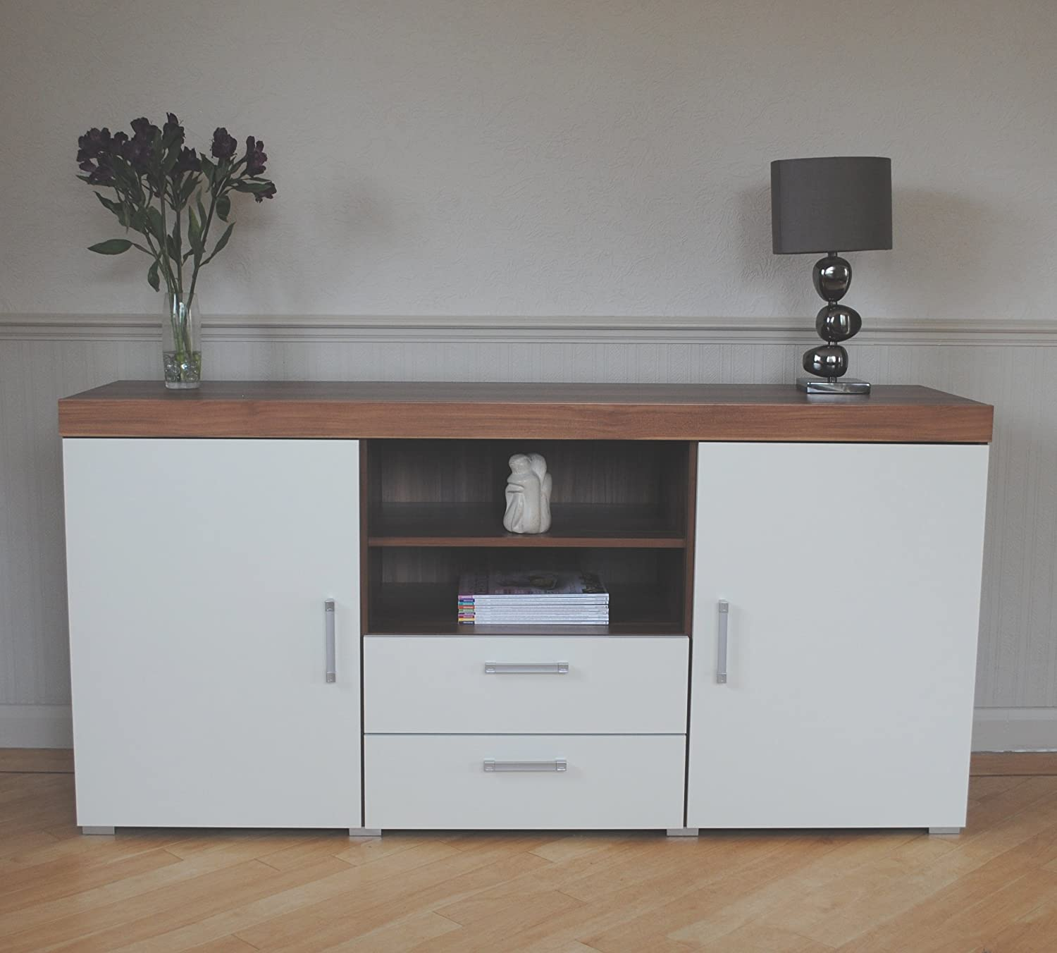 Sideboard simple alto natural solid oak small sideboard Living room furniture sydney