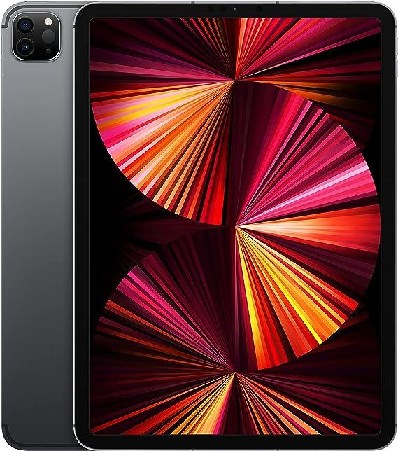 Amazon.com : 2021 Apple 11-inch iPad Pro (Wi-Fi + Cellular ...