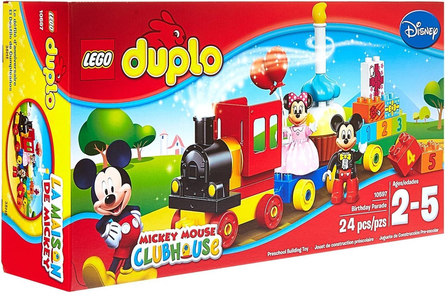 Amazon.com: Building Block LEGO DUPLO (24 Pcs) Mickey and ...