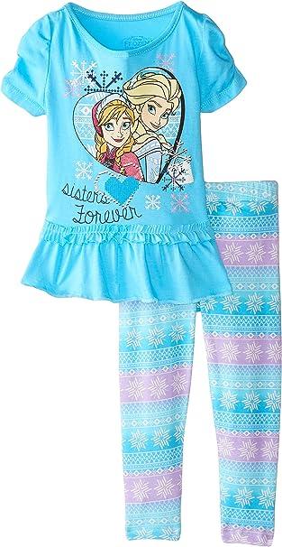 Disney Toddler Frozen 2 Piece Girls Legging Set