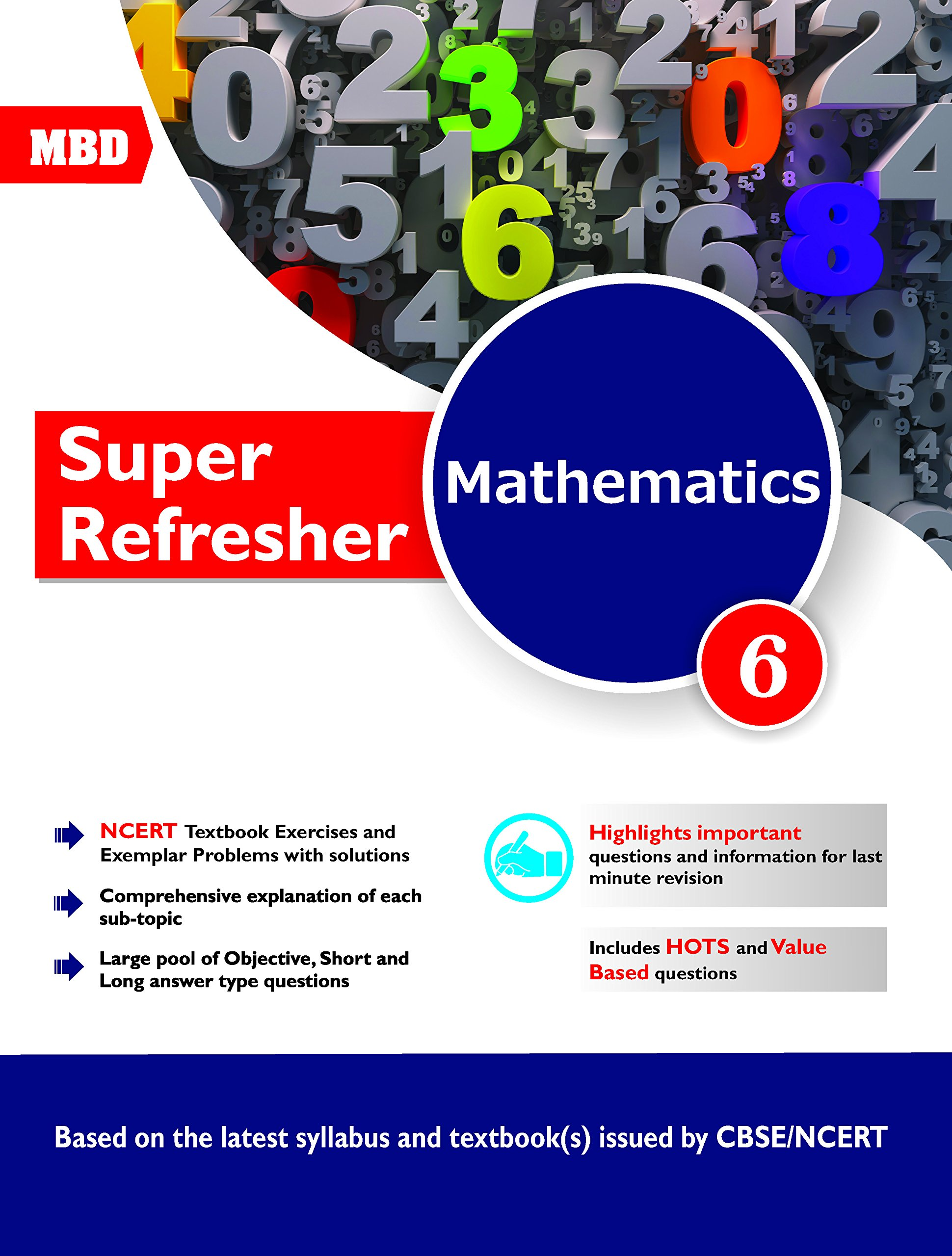 MBD Math - Super Refresher CBSE - Class 6: Amazon in: Vinay Sharma