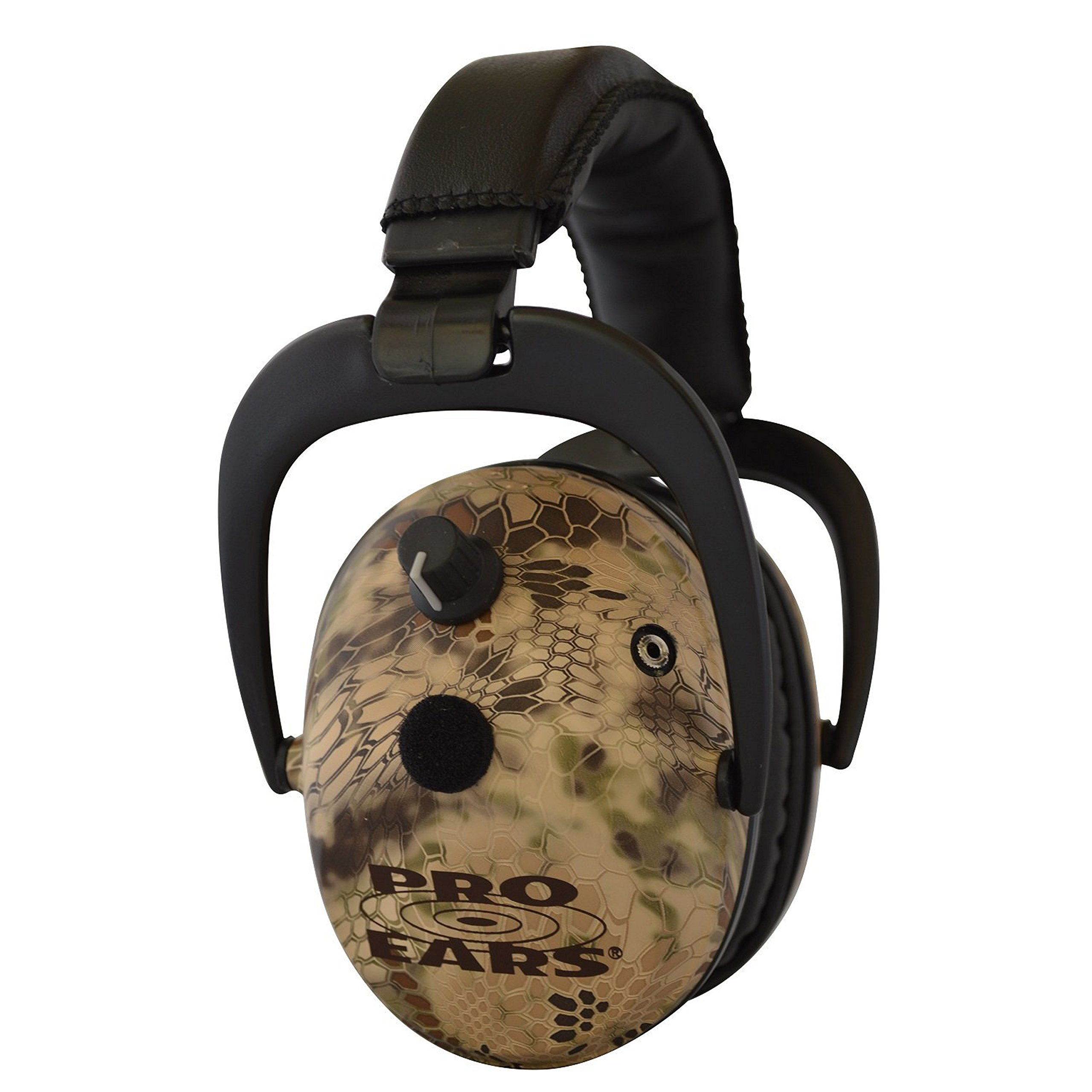 Pro Ears - Predator  Gold - Hearing Protection and Amplfication - NRR 26 - Contoured Ear Muffs - Highlander by Pro Ears