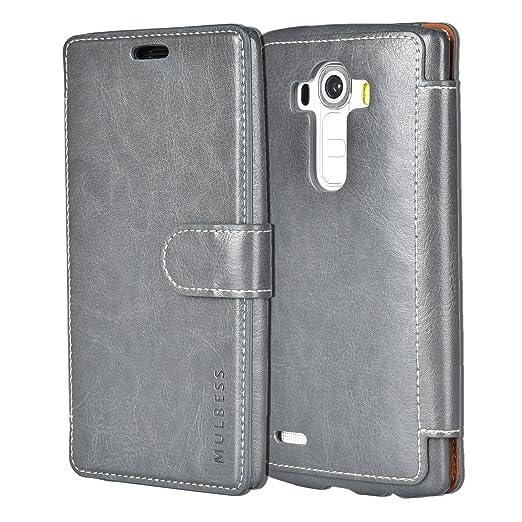 169 opinioni per Custodia LG G4- Cover LG G4- Mulbess Custodia In Pelle Con Flip Cover Per LG G4