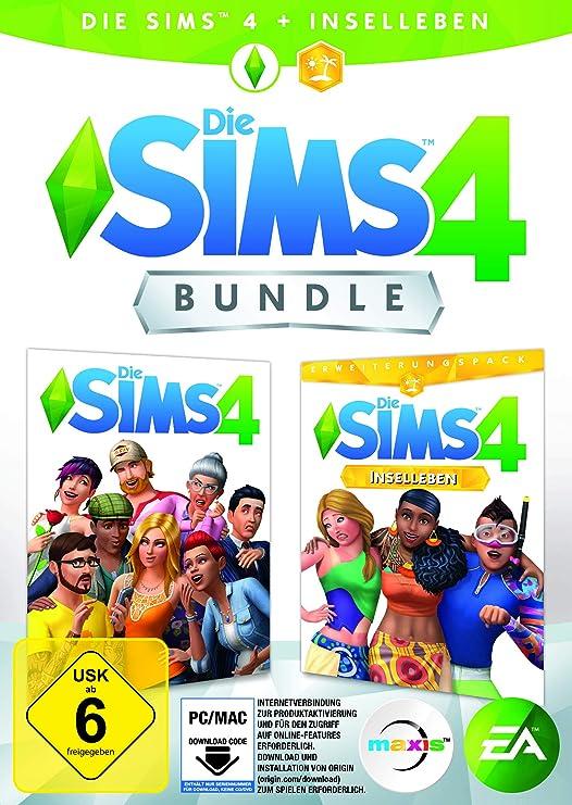 Die Sims 4 [Standard Edition] + Inselleben - [PC - Code in der Box ...