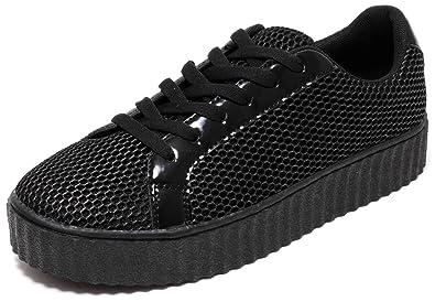 FASHION Mädchen Damen Sneaker Plateau Schuhe CANDY ROSE Gr.38-41 (39) MT4Evx