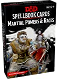Spellbook Cards - Martial Powers & Races