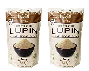 Lodi Unbaked, Gluten Free, High Protein, All-Purpose Flour 24 oz, (Pack of  2)