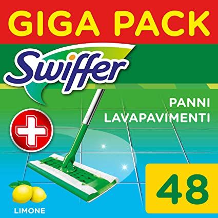 Swiffer Floor Wipes Refill Pack with Fresh Citrus Scent Pack of 48 2968 g