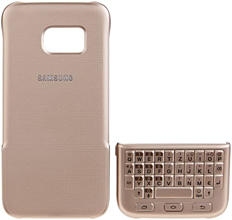 Samsung EJ-CG930UFEGDE QWERTZ Oro teclado para móvil - teclados para móviles (Oro,