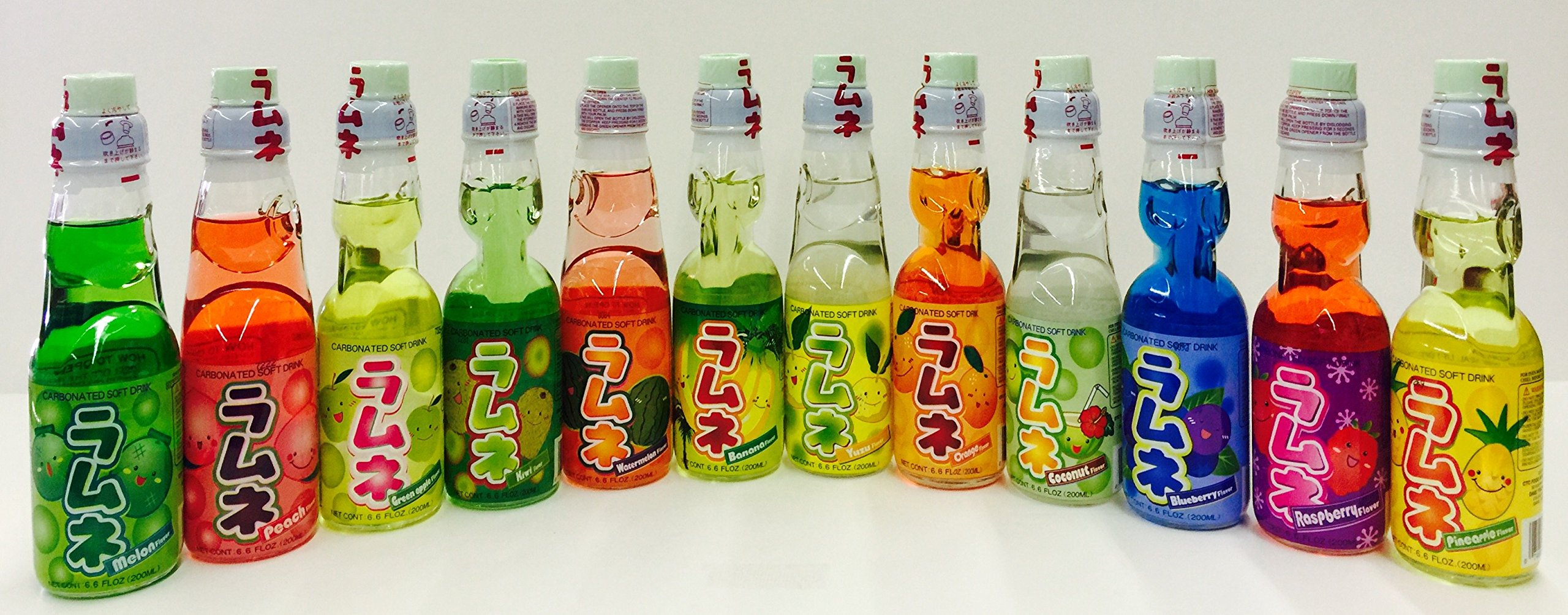 PowerMedley Ramune soda gift set (12 variety) by Power for Apple