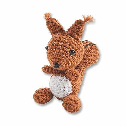 Folia-Mini-Häkelset écureuil 7-9 cm