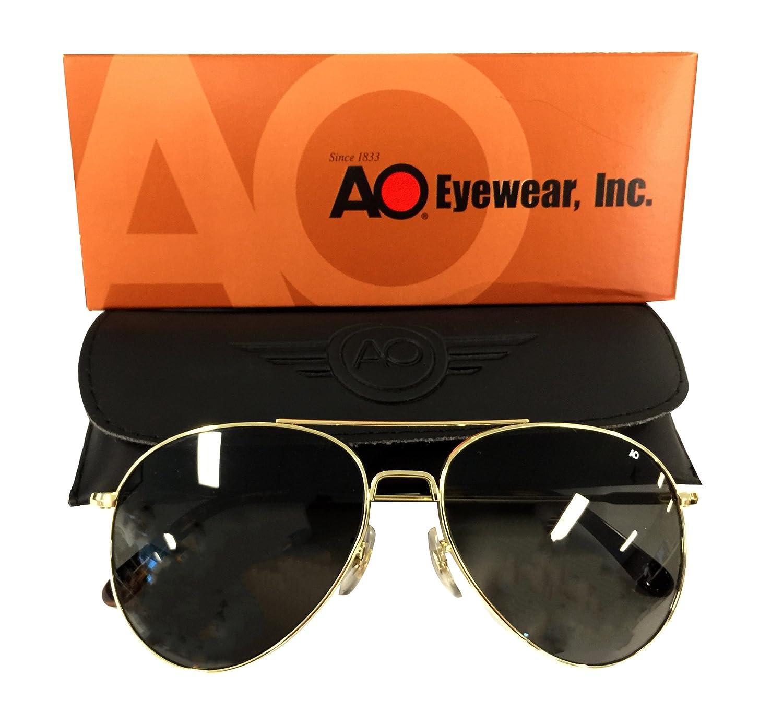 AO B06X9M59BY Eyewear American Optics vuelo Gear 13251 Dorado ...