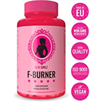 Slim Girlz F-Burner | Even Without Exercise | For Women | 60 Vegan Capsules | 10 Active ingredients | No Stimulants | High Dose |100% Natural|Vegan & Gluten-free|Safe Dietary Supplement| Made in EU