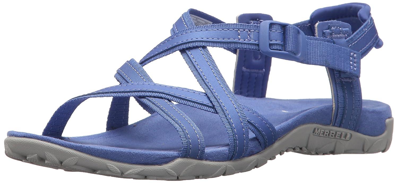 Merrell Women's Terran Ari Lattice Sport Sandal B071FNYR6T 10 B(M) US|Baja Blue