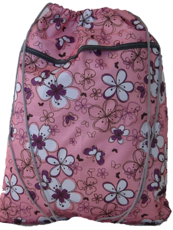 (LOTS OF DESIGNS) Pretty Drawstring Shoe Bag (W)36cm (H)45cm