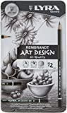 LYRA Rembrandt Art Design Drawing Pencils, Set of 12 Pencils, Assorted Degrees (1111120)