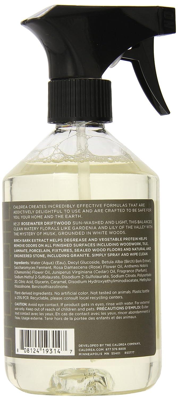 Amazon.com: Caldrea Countertop Spray, Rosewater Driftwood, 16 ...