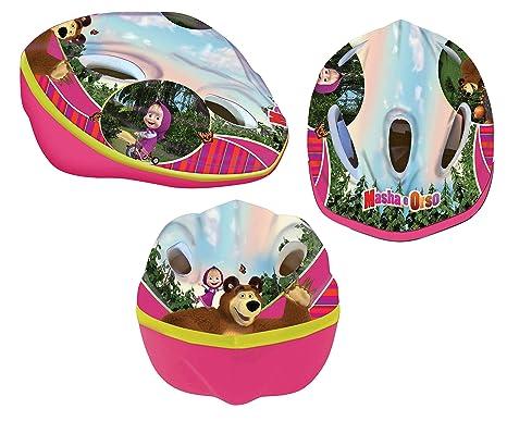 Disney Casco Ninja Masha & Oso para niños de hasta 10 años ...