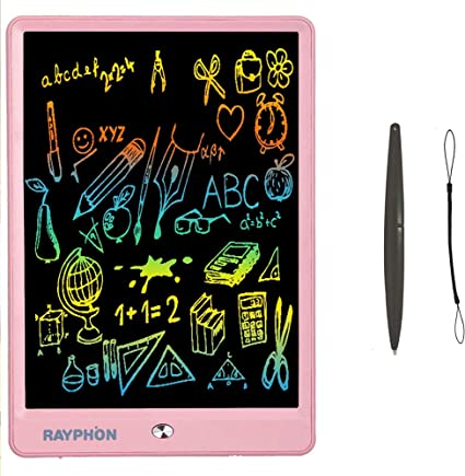 "9/"" Inch Colorful LCD Digital Writing Drawing Tablet Handwriting Pads Fr Kid Gift"