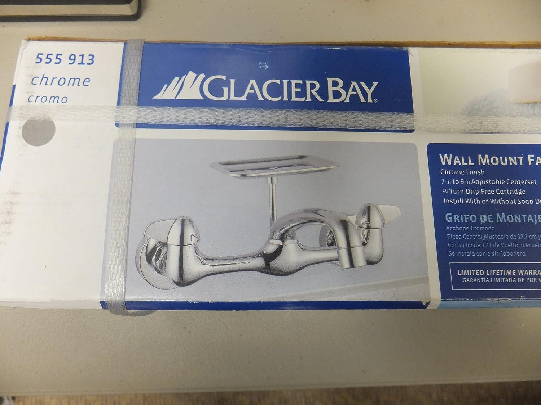 Glacier Bay Wall Mount Faucet - Bar Sink Faucets - Amazon.com
