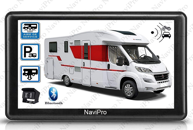 GPS Camping denn 7 Zoll mit RW043P Rü ckfahrkamera Kabellos HD NaviPro