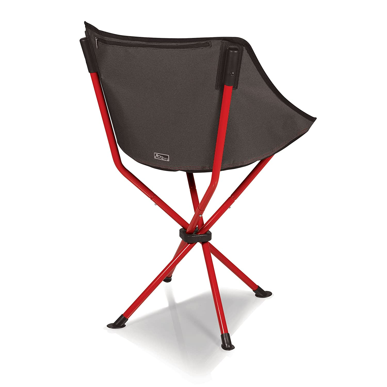 Amazon Picnic Time Odyssey Portable Chair Red Patio Lawn