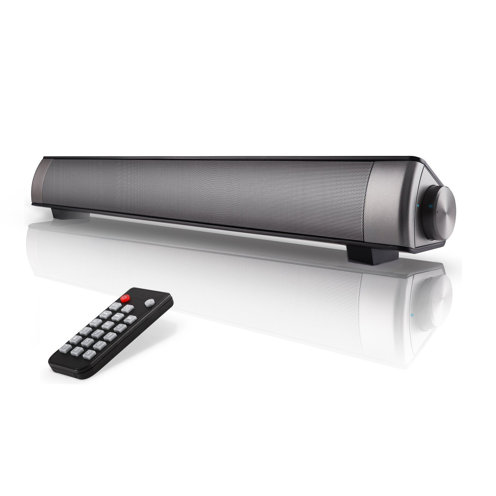 Sound Bar TV Soundbar Wired and Wireless Bluetooth Home Theater TV Speaker, Surround Sound Bar for TV, PC, Cellphone (Only Fit for AUX & RCA Audio output tv) by FoolHome (Image #1)