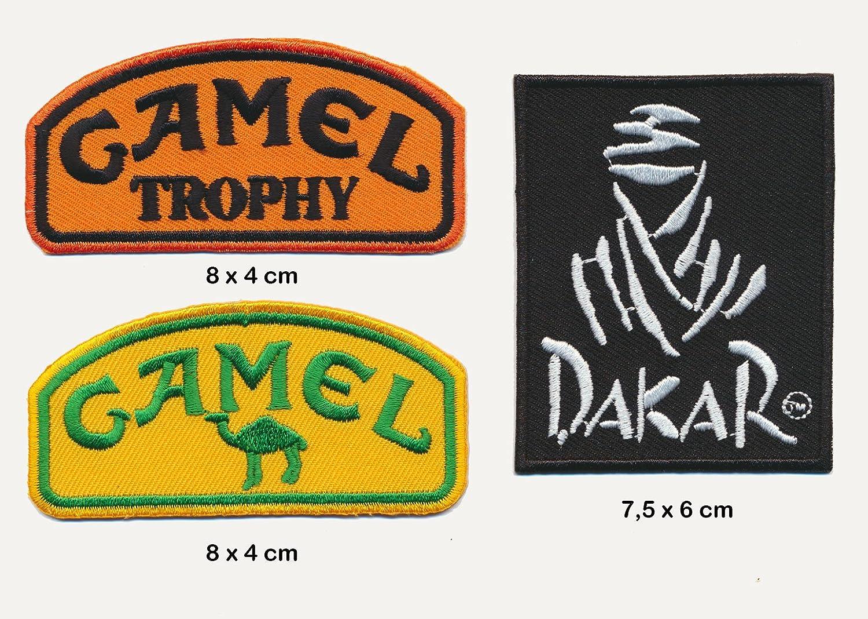 3 unidades Parche para planchar de Camel y Dakar