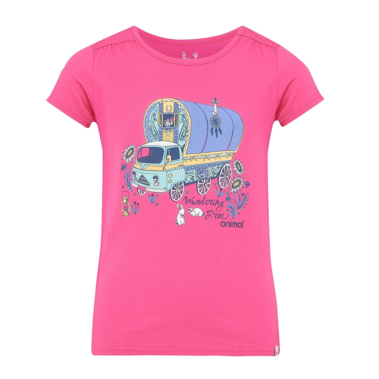 Animal Girl's Betsy Bus T-Shirt UTAN322_14