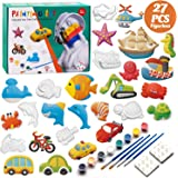 KODATEK Painting Your Own Figurines, for Real Painting Ready-to-Paint Figurines Craft Kit Magic Painting Plaster Art…