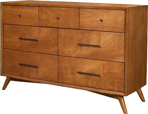 Reviewed: Alpine Furniture Flynn Mid Century Modern 7 Drawer Dresser