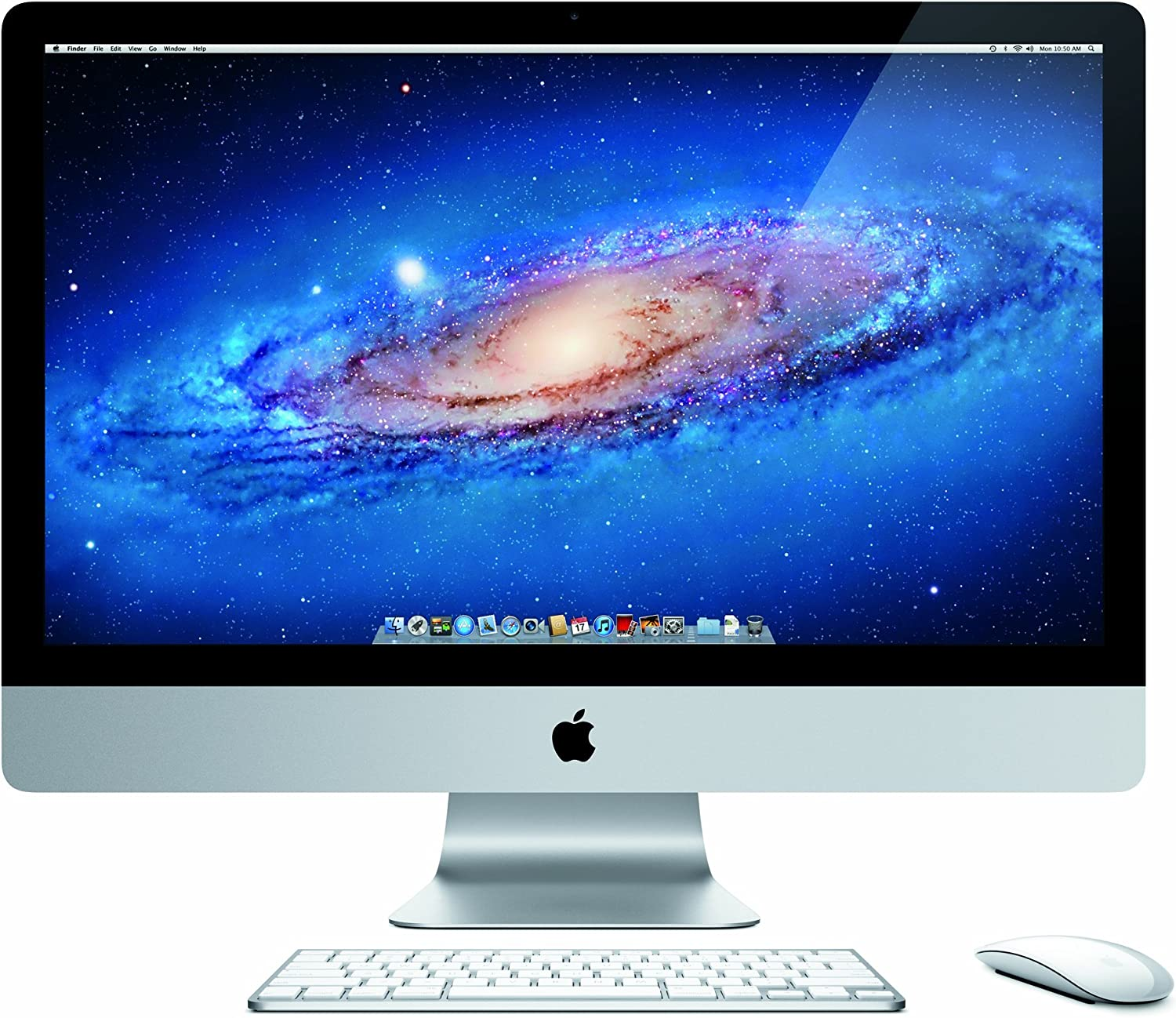 Apple iMac MC814LL/A 27-Inch Desktop PC (3.1GHz Intel Core i5 Processor, 4GB RAM, 1TB HDD) (OLD VERSION) (Discontinued by Manufacturer) (Renewed)