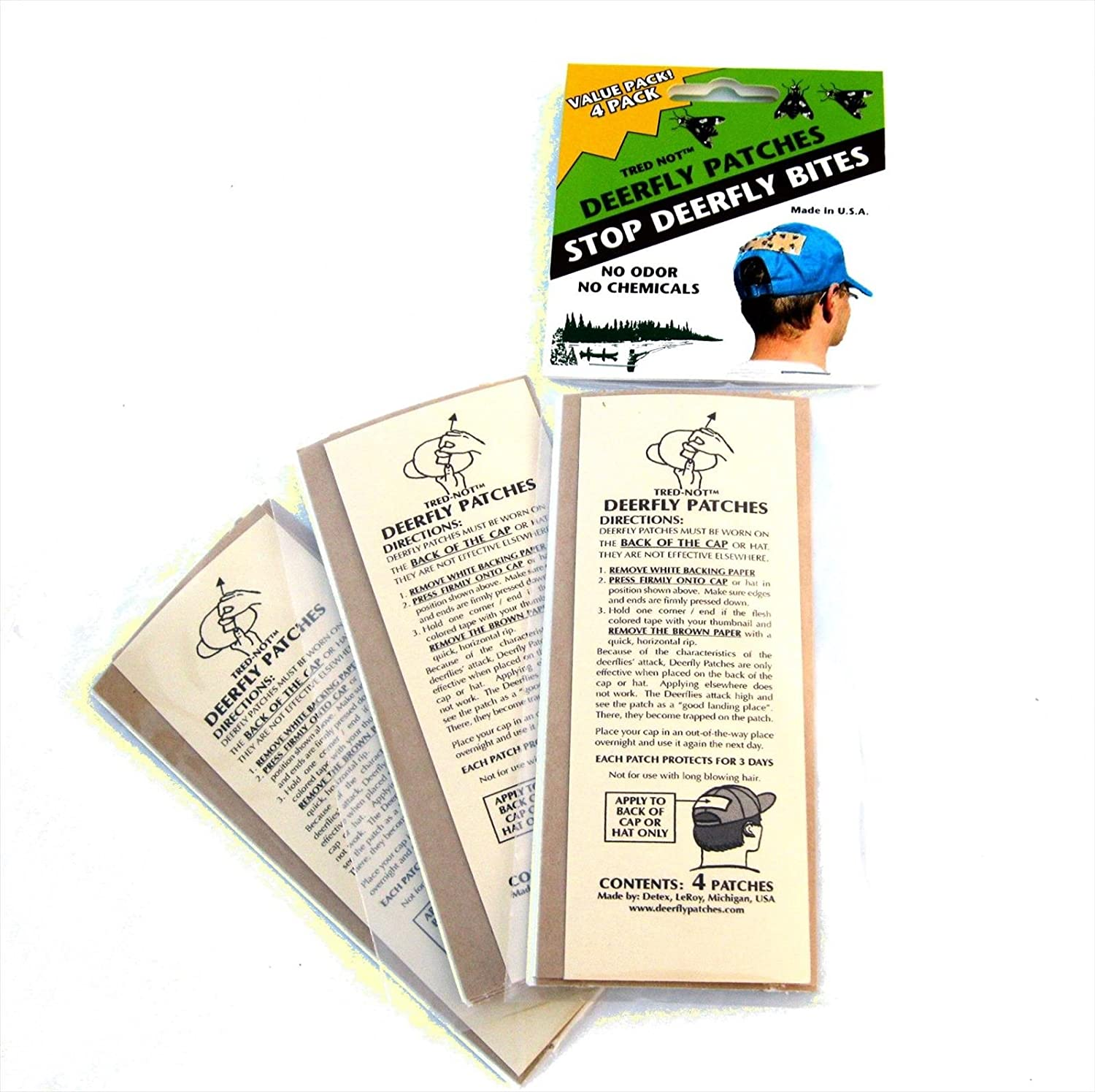 12 Pack - Deer Fly Patches