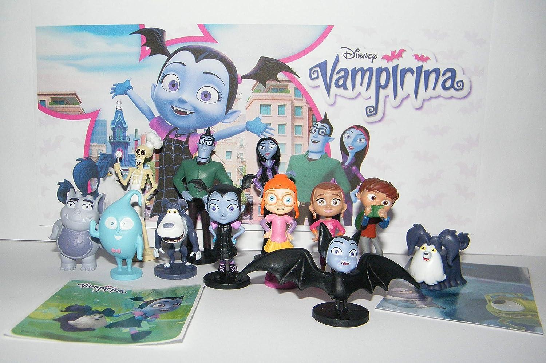 Toys & Play Disney Vampirina Deluxe - Juego de 14 Figuras de ...