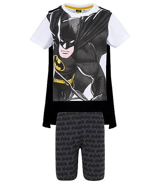 Batman Chicos Pijama mangas cortas - Blanco - 104